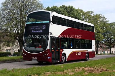 286, BF63HDC, Lothian Buses