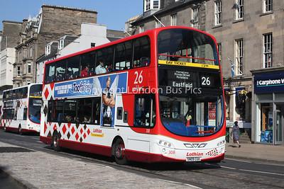 308, SN09CUA, Lothian Buses