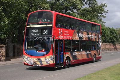 320, SN09CVA, Lothian Buses
