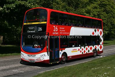 313, SN09CUK, Lothian Buses