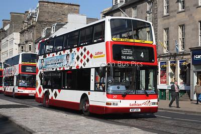 297, WDF297, Lothian Buses