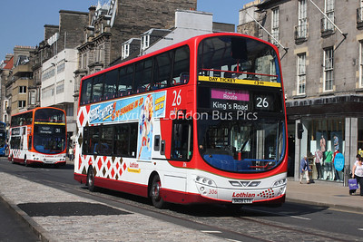306, SN09CTY, Lothian Buses