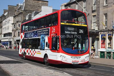 315, SN09CUU, Lothian Buses