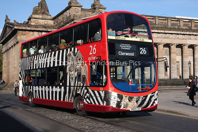 323, SN09CVD, Lothian Buses