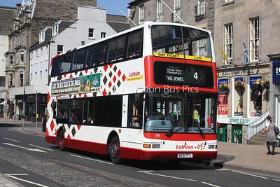 291, W291PFS, Lothian Buses