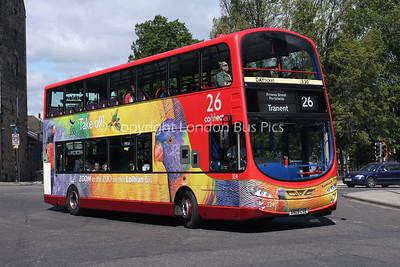 324, SN09CVE, Lothian Buses