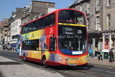 325, SN09CVF, Lothian Buses