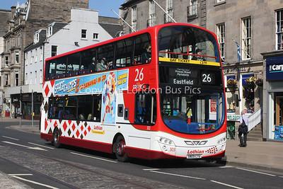 303, SN09CTU, Lothian Buses
