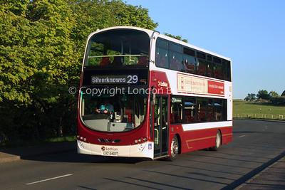 1022, LXZ5407, Lothian Buses
