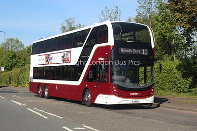 1099, SJ19OXS, Lothian Buses