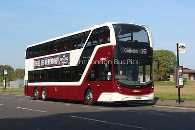 1080, SJ19OWV, Lothian Buses