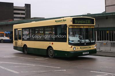 33, Y133GBO, Newport Bus