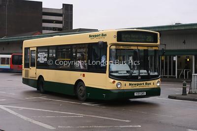 31, Y131GBO, Newport Bus