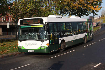 44, YN54AOD, Newport Buses