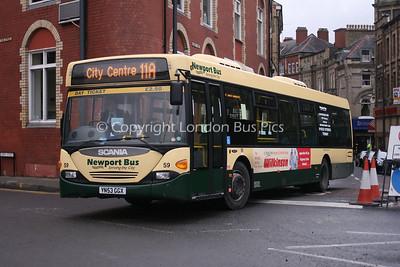 59, YN53GGX, Newport Bus
