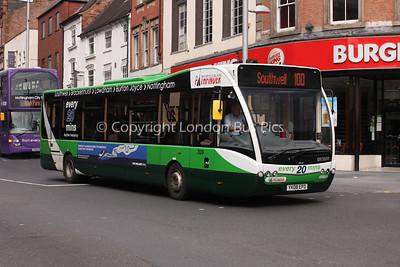 309, YK08EPD, Nottingham City Transport