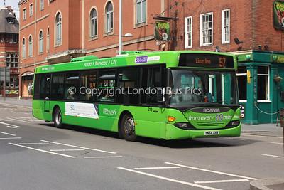219, YN54AHV, Nottingham City Transport
