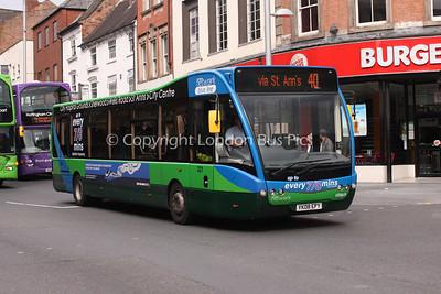 321, YK08EPY, Nottingham City Transport