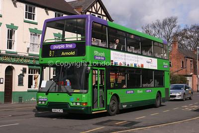 665, X665WCH, Nottingham City Transport