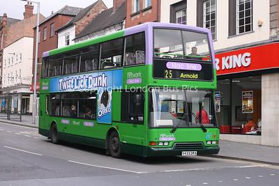 433, V433DRA, Nottingham City Transport