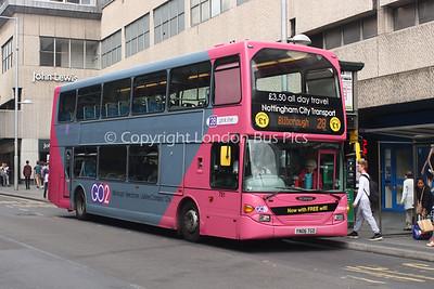 751, YN06TGO, Nottingham City Transport