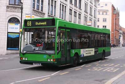 554, FD51EYW, Nottingham City Transport
