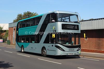 427, YP17UFR, Nottingham City Transport