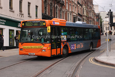 504, FD02SDY, Nottingham City Transport