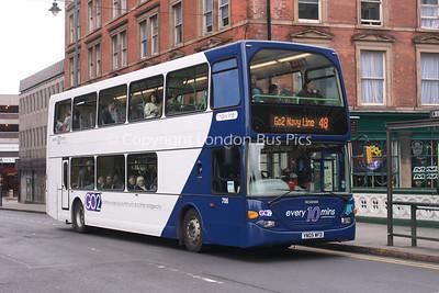 708, YN05WFD, Nottingham City Transport