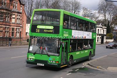 648, W648SNN, Nottingham City Transport