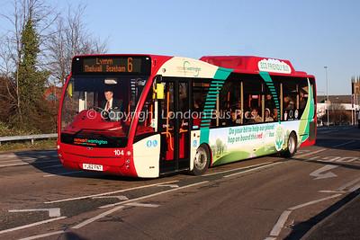 104, YJ62FNT, Warrington Borough Transport (Network Warrington)