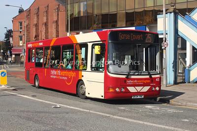 45, DE04YNC, Warrington Borough Transport (Network Warrington)