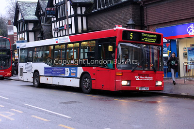 1577, S577VUK, National Express West Midlands