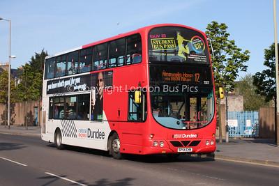 7007, SP54CHN, National Express Dundee