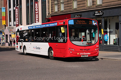 2043, SP61CTX, National Express Dundee