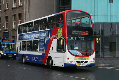 7018, SP54CHD, National Express Dundee