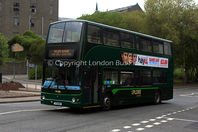 4076, V76MOA, National Express Dundee