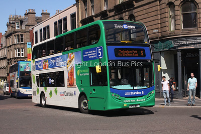 5428, SP13BSY. National Express Dundee