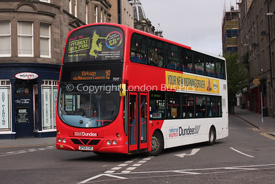 7017, SP54CHC, National Express Dundee