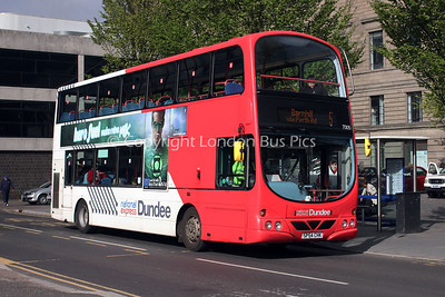 7005, SP54CHK, National Express Dundee