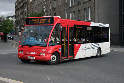 0321, YT51EBC, National Express Dundee