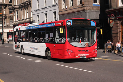 2052, SP61CTF, National Express Dundee