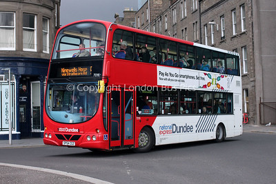 7016, SP54CGZ, National Express Dundee