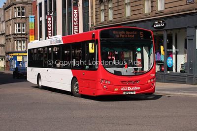 2041, SP61CTU, National Express Dundee