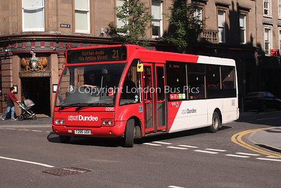 0295, T295UOX, National Express Dundee