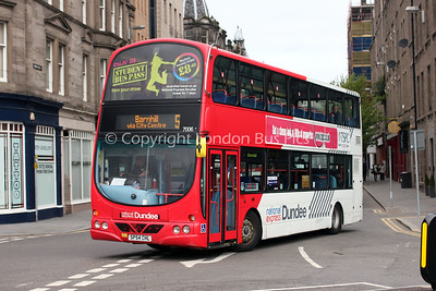 7006, SP54CHL, National Express Dundee
