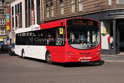 2032, SP61CUH, National Express Dundee