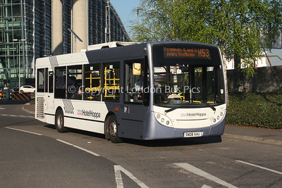 8321, SN08AAU, National Express