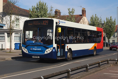 27644, GX10HBZ, Stagecoach in Norfolk (T/A Go West Travel)