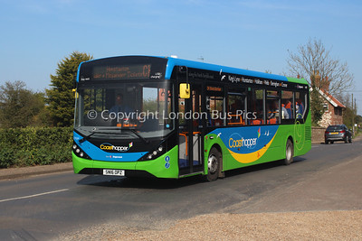 37474, SN16OPZ, Stagecoach in Norfolk (T/A Go West Travel)